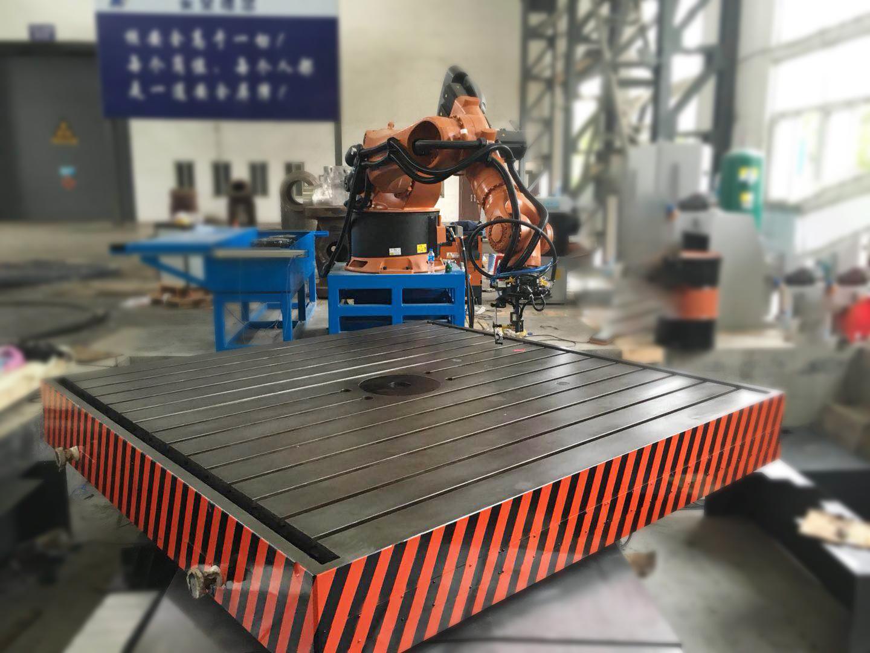 自动化研究所大型扫描打磨专机(静压悬浮转台)